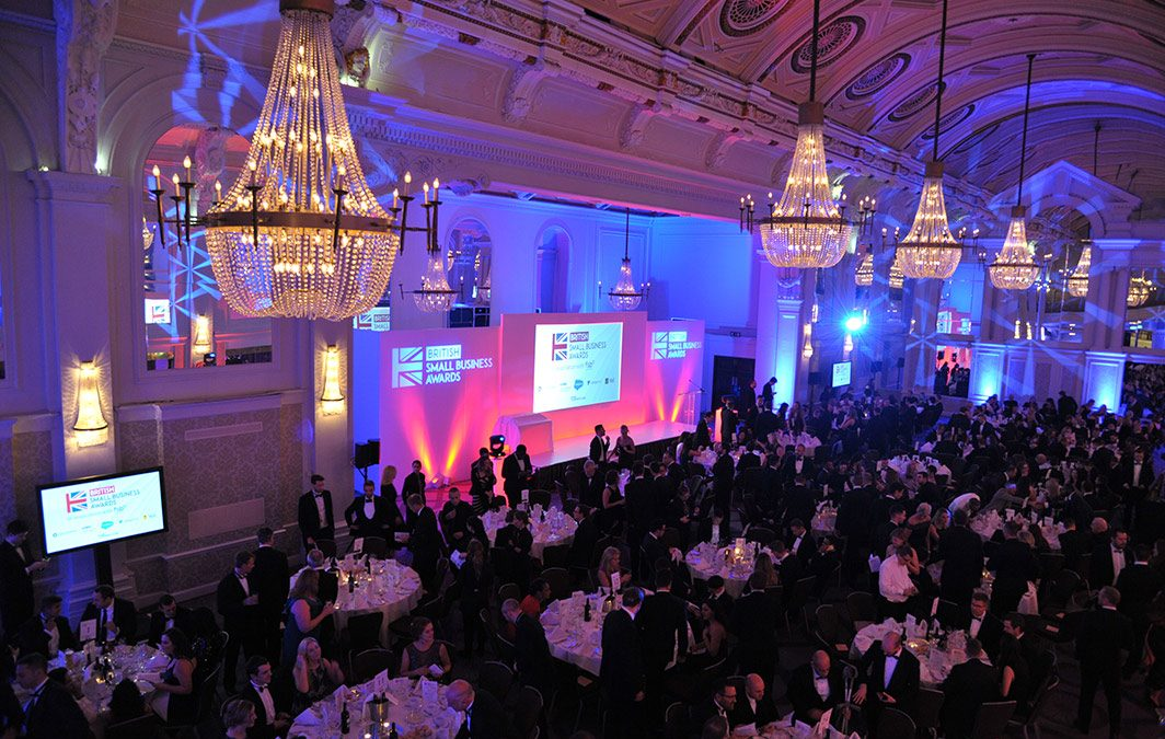 Join us for the British Small Business Awards on November 1!
