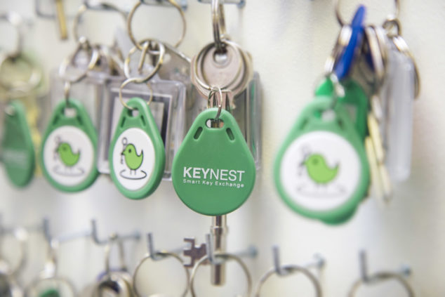 KeyNest is the November winner of the Small Business Grants competition